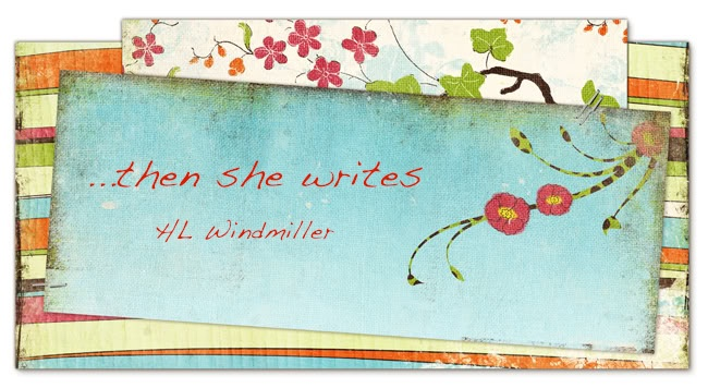 ...then she writes