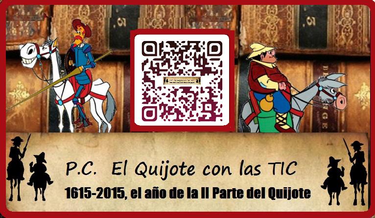 Participamos en el IV Centerario de la 2ª Parte del Quijote 1615-2015
