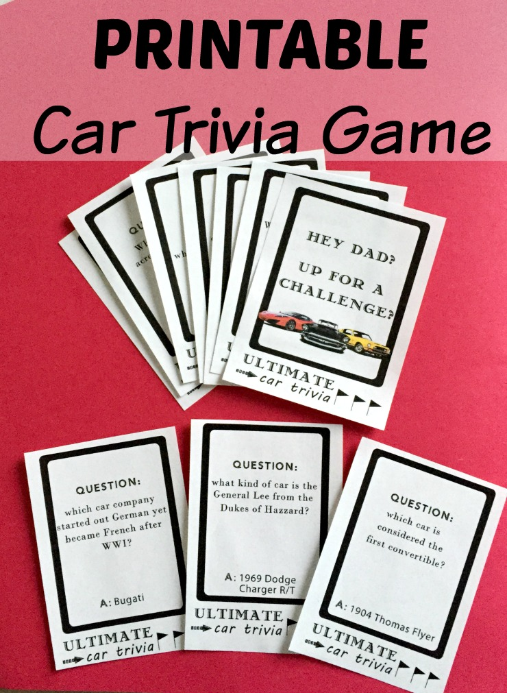 second chances girl   a miami family and lifestyle blog diy printable ultimate car trivia game