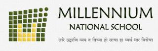 Millennium National School Pune Logo