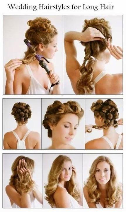 Weeding Ladies Hair Styles Tutorials #1.