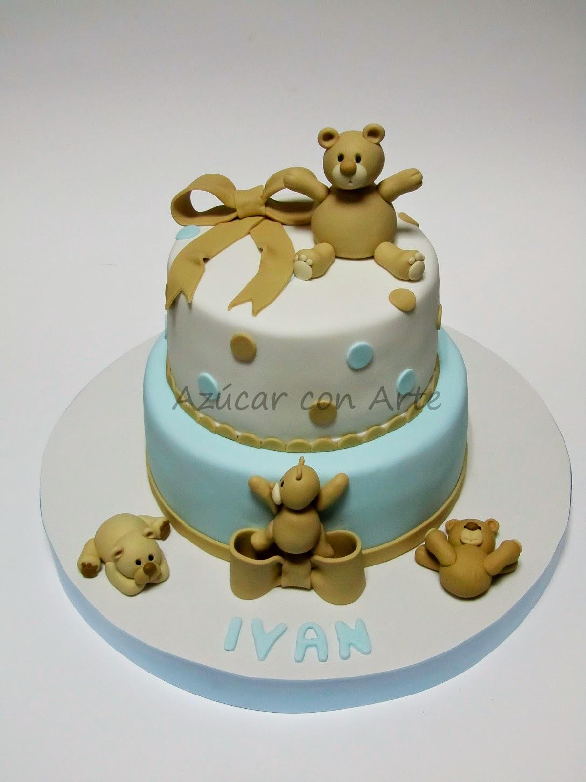 bear cake | azucar con arte