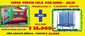 PROMOCIÓN BUENÍSIMA !!! por JUNIO Y JULIO