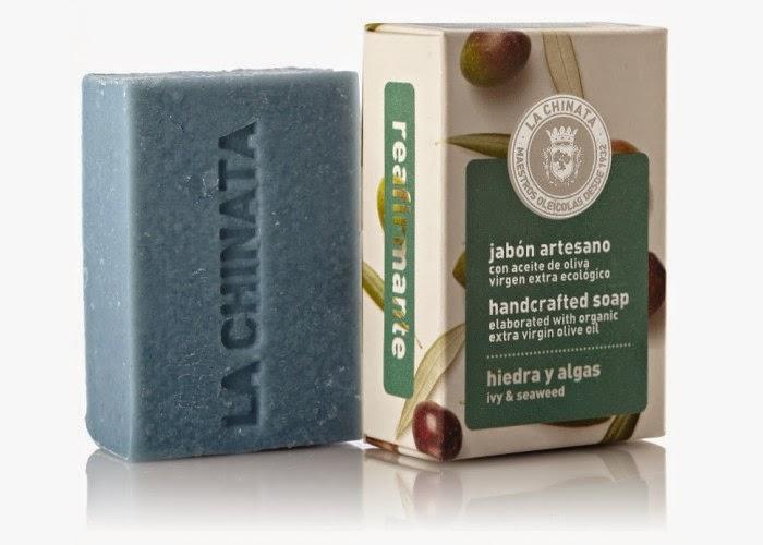 Jabón reafirmante hiedra y algas