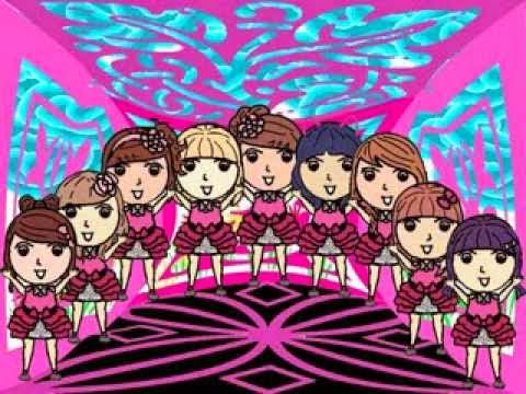 ... kini para personil Cherrybelle hadir sebagai sebuah karakter animasi