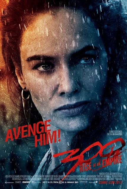 Quin Gorgo Lena Headey 300 Rise of an Empire Poster
