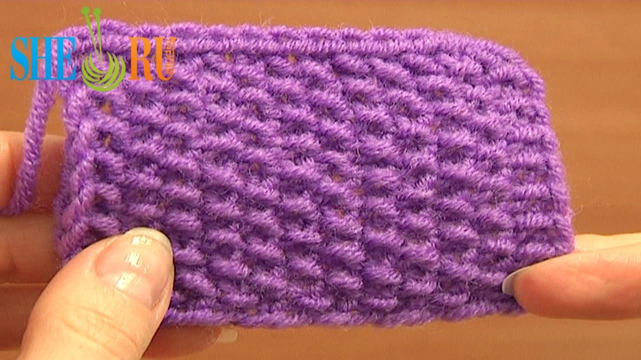 Sheruknitting: Knitting Stitch Pattern for Beginners Tutorial 2