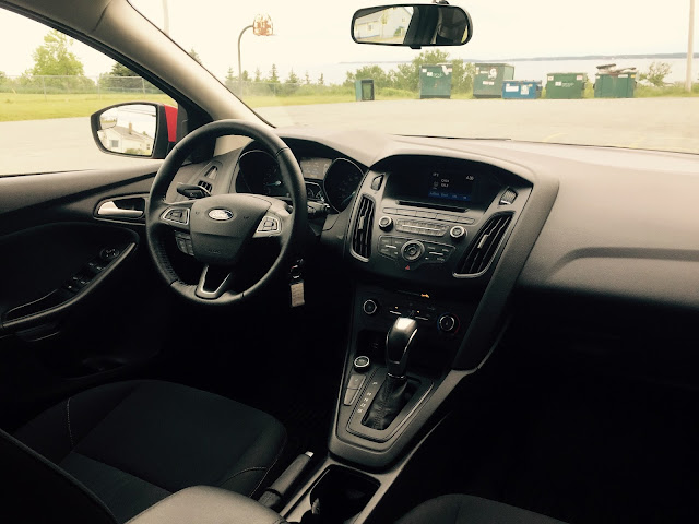 2015 Ford Focus SE interior