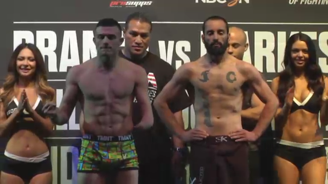 Nick Newell WSOF 20 Weigh-In