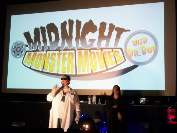 Local Monster Movie Host<br>Dr. Bob Tesla