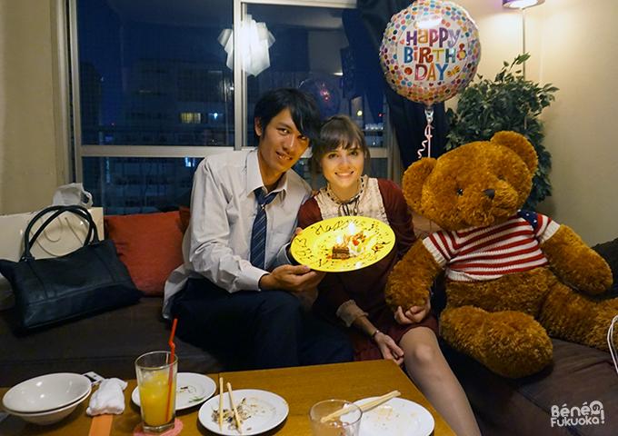 Daisuke et Béné, un couple mixte franco-japonais