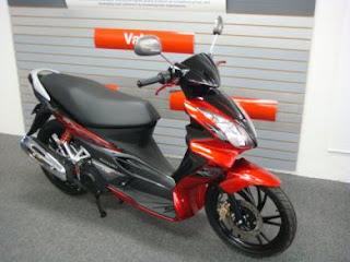 2011 Suzuki Hayate 125 scooter