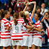 US beats Colombia 3-0, Brazil needs late winner in women's Olympic football