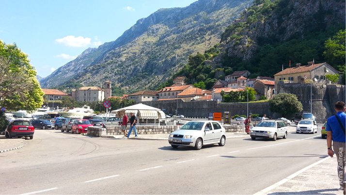 Холм над Котором, Черногория