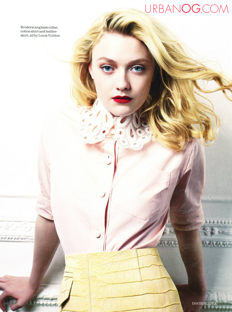 UrbanOG.com Blog: Dakota Fanning for Elle UK Dakota Fanning Blog