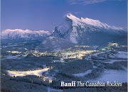 We saw Mt. Rundle over Banff. I just put this pic because it's so pretty; . (banff mt)