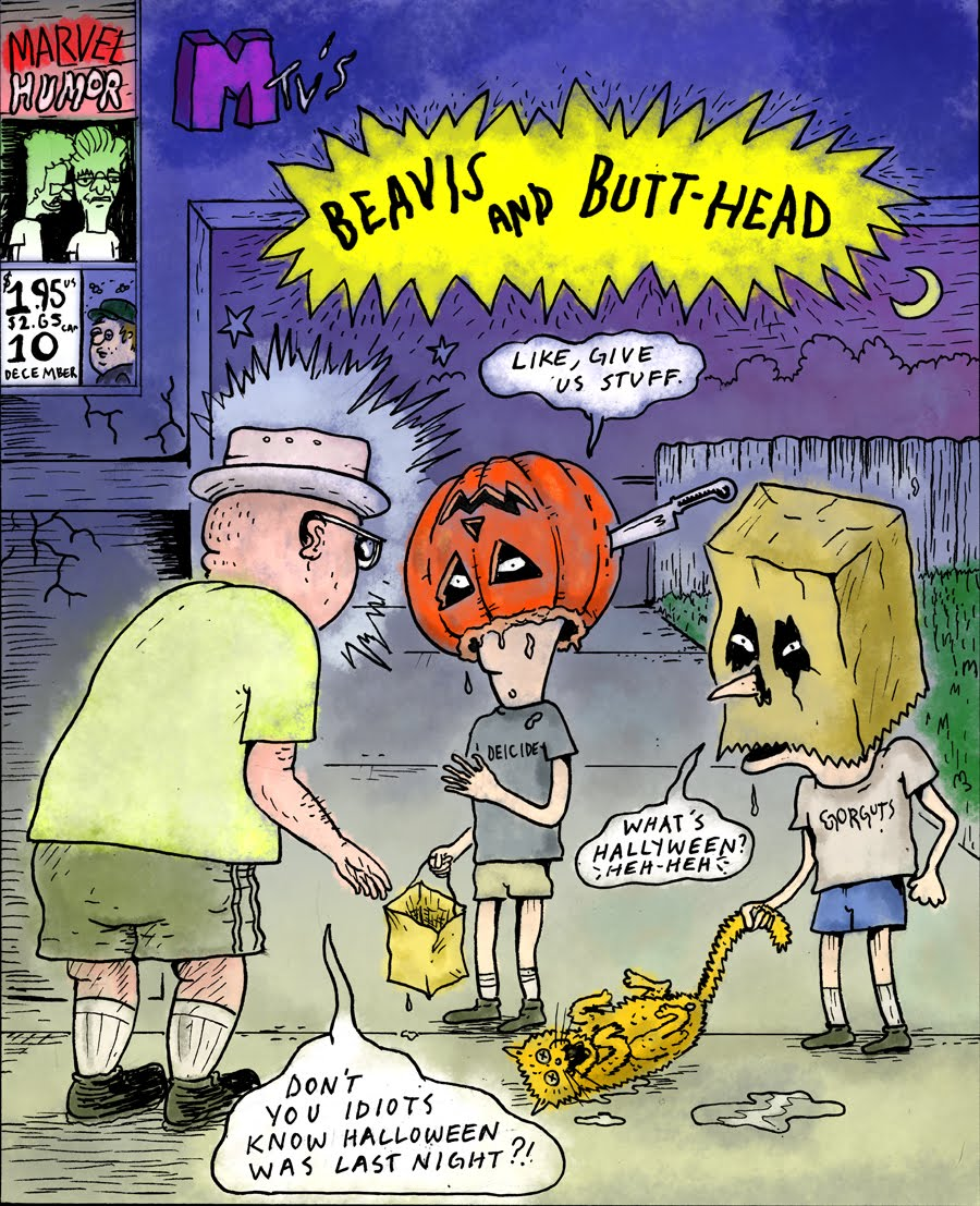 covered: uland k. covers beavis and butthead 10