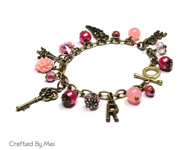 love Beaded Charm Bracelets