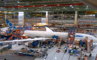 First Boeing 787-9 Dreamliner Begins Final Assembly [Photo: Boeing]