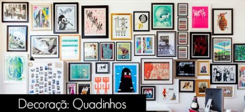 Decor com Quadros: Como Dispor + ilustraçoess para enquadrar
