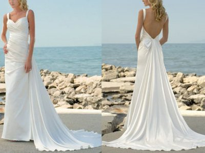 Beach Wedding Dresses 2010