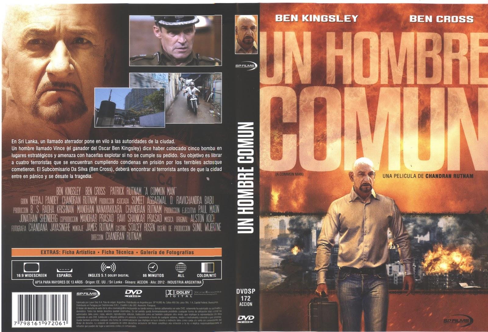 PB | DVD Cover / Caratula FREE: A COMMON MAN - DVD COVER 2012 A Common Man Dvd