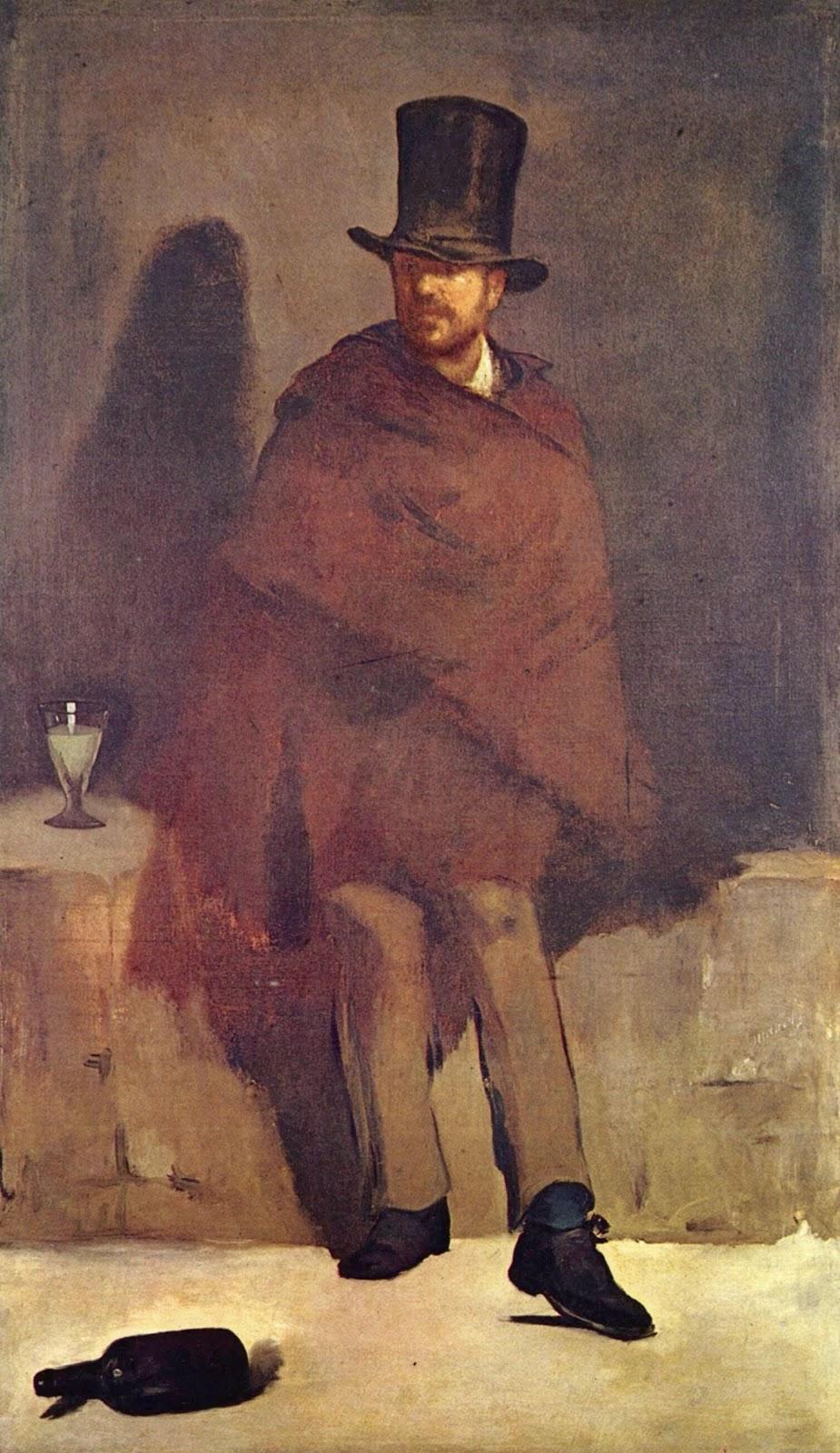 Édouard Manet, Le buveur d'Absinthe (1859)