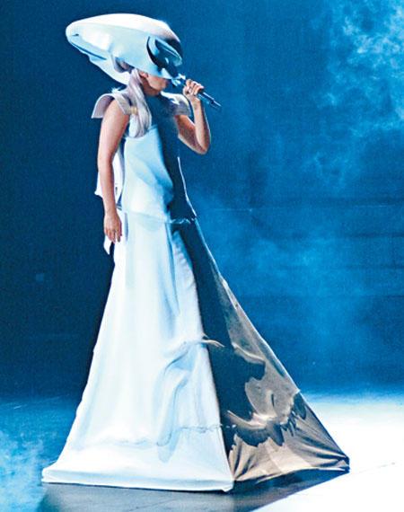 lady gaga 2012 grammys