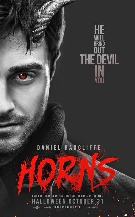 Exclusive Main Trailer For Daniel Radcliffe's 'Horns ... Horns Movie Poster