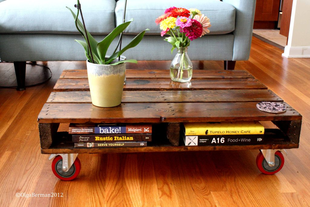 Mango Tomato DIY Make Your Own Pallet Coffee Table
