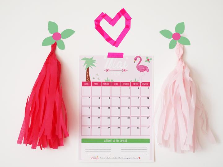 calendrier diy mai 2015 gratuit