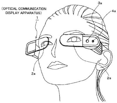 Sony Optical Communication Display Glass, Kacamata Dengan Teknologi Augmented Reality