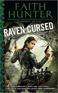 Raven Cursed by Faith Hunter (Jane Yellowrock #4)