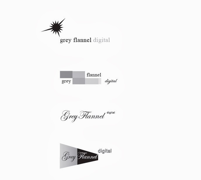 Grey Flannel: Logo