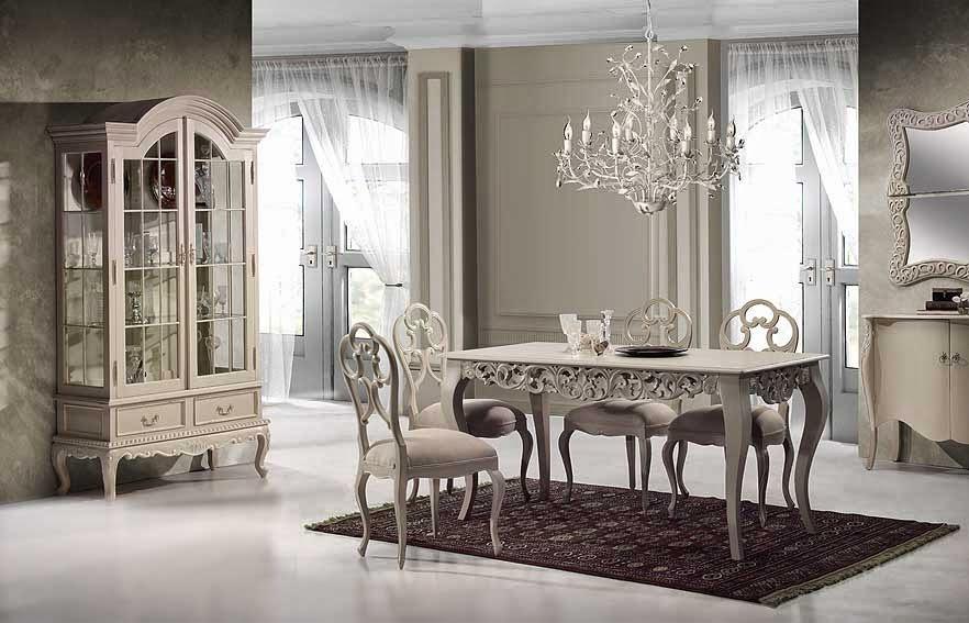 Comedor estilo provenzal for Decorar mueble comedor