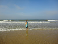 Colva Beach, most clean and less crowded beach
