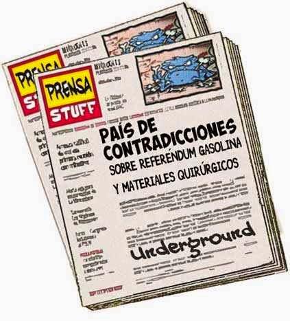 front page cómics - Venezuela periodismo