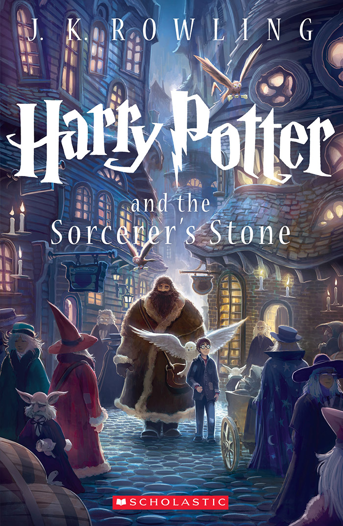 Harry Potter and the Sorcerer's Stone Special Edition Cover by Kazu Kibuishi