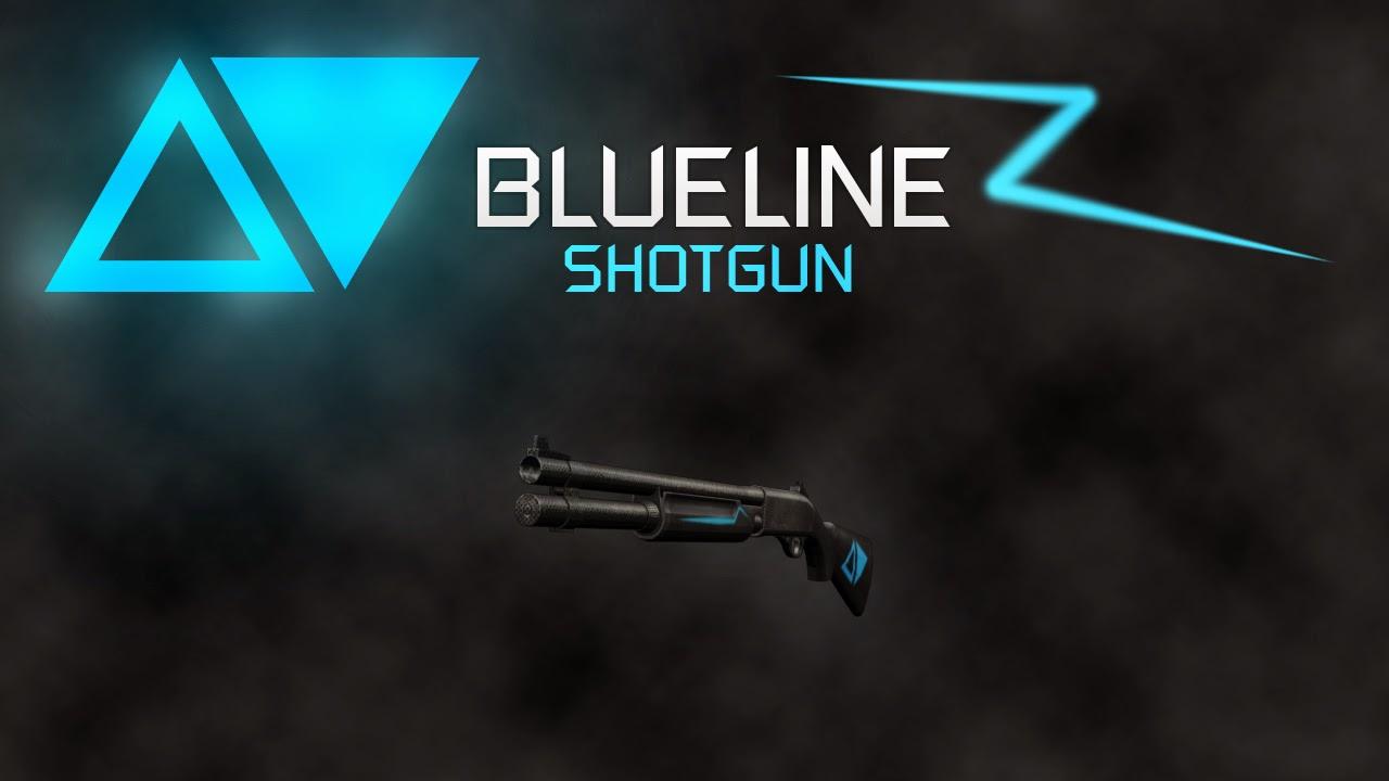 GTA SA - BLUELINE WEAPON PACK Shotgun