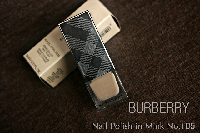 Burberry beauty nail polish in mink review, photos & swatches