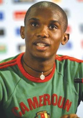 Samuel Eto'0- RM170,000,000.00 (Football)