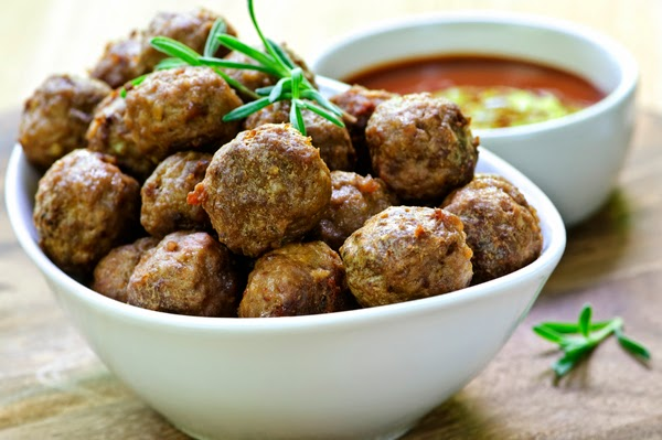Meatballs with Ouzo Chios recipe, Chios recipe, Mediterranean Diet,