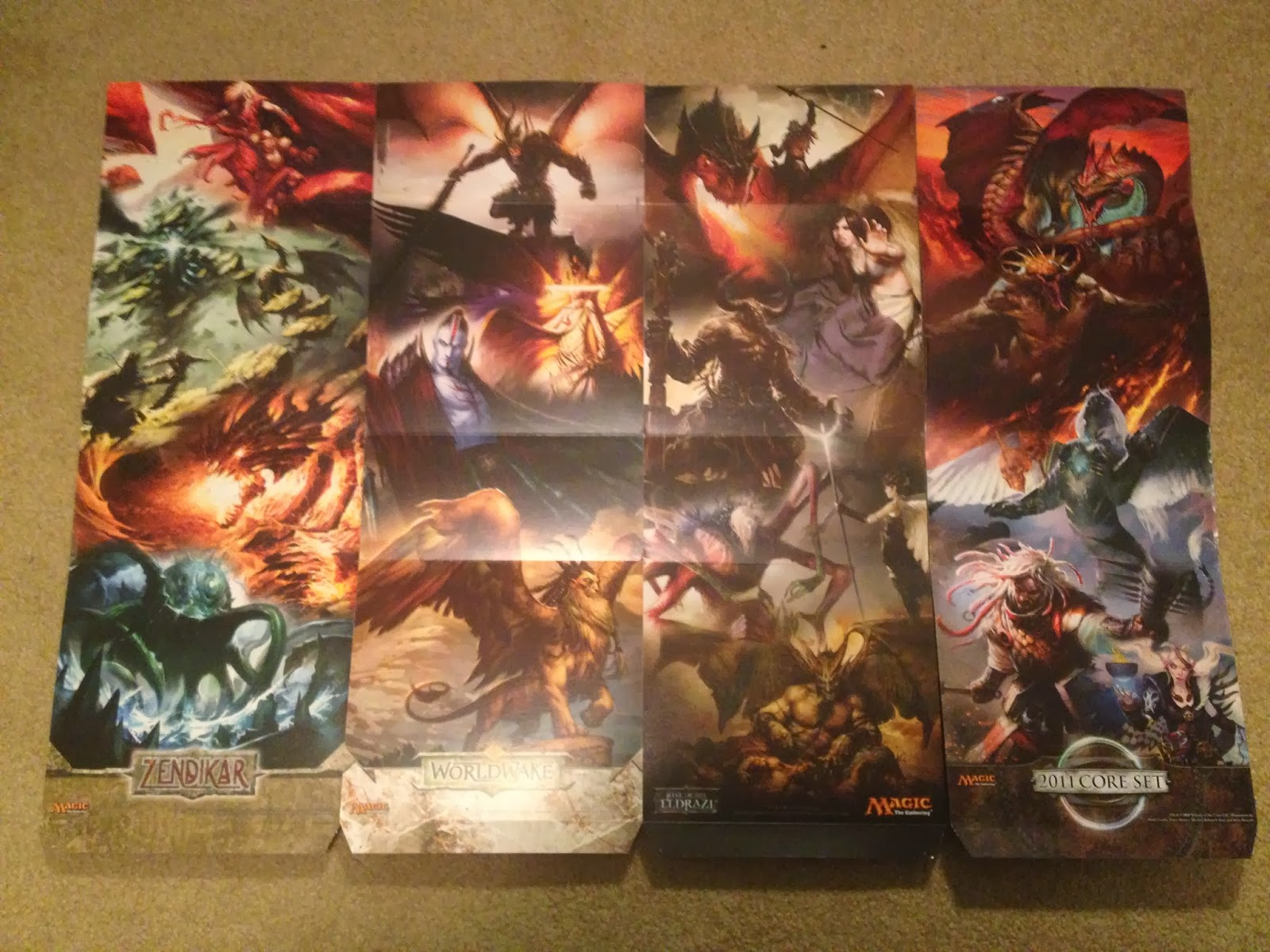 Magic the gathering BORN OF THE GODS FAT PACK SEALED IN HAND!!