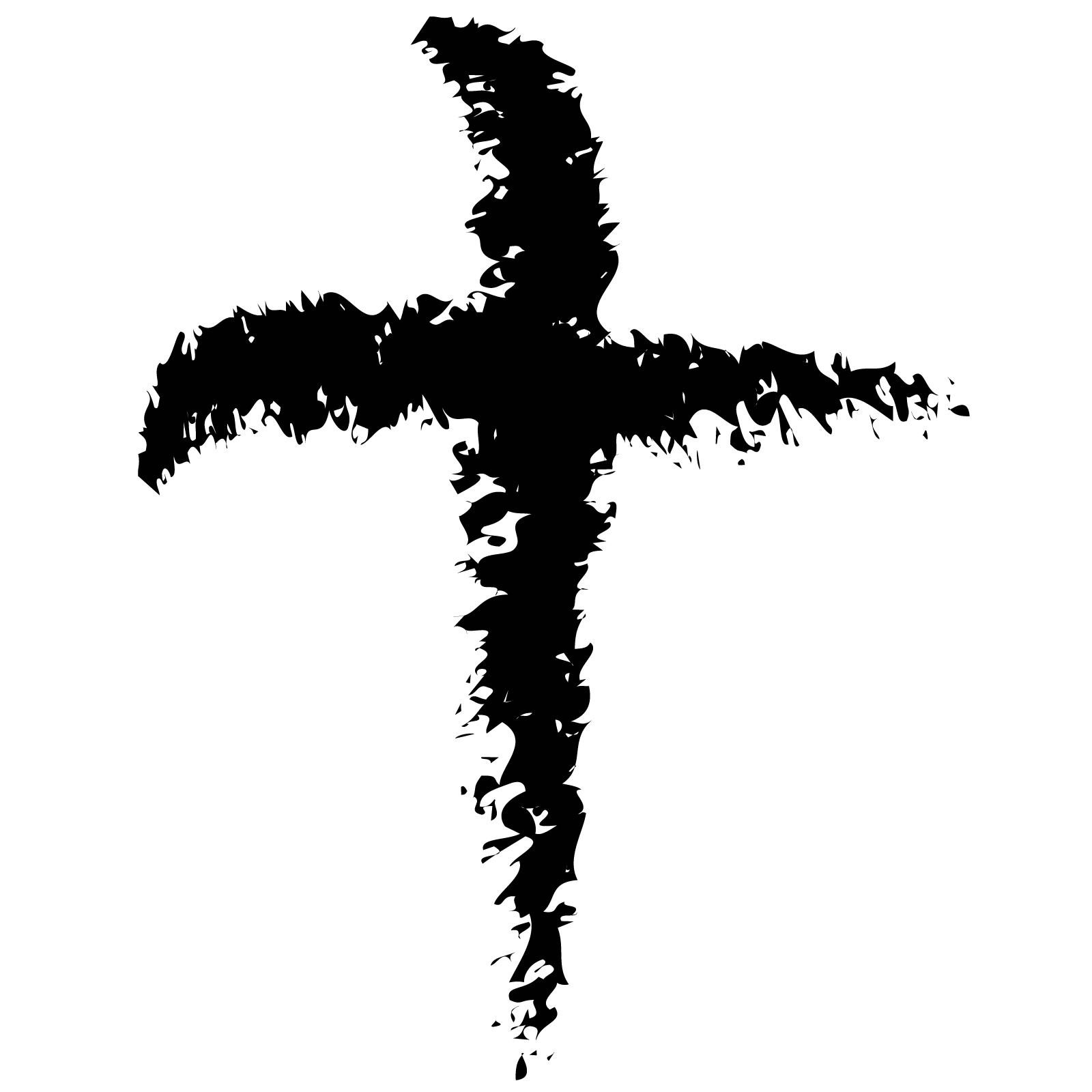 Ash Wednesday Cross Smudge