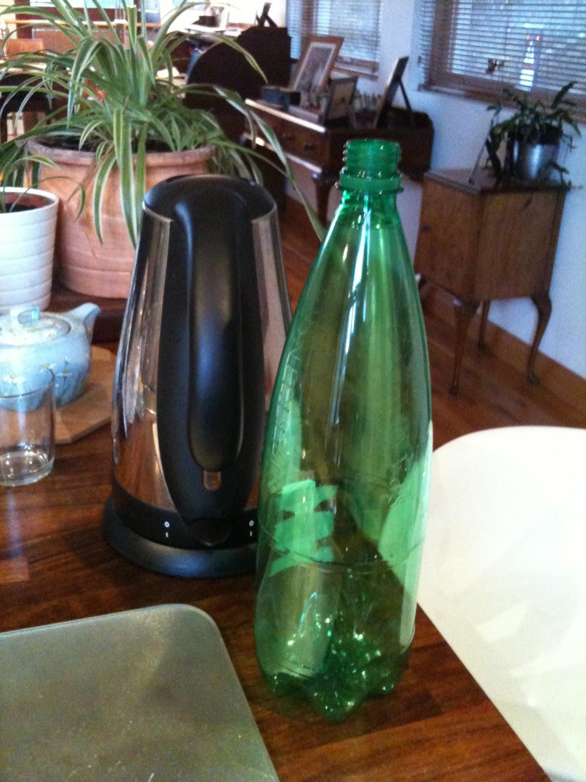 Goodbye Magpie: Goodbye Plastic Bottles; well some of them ...