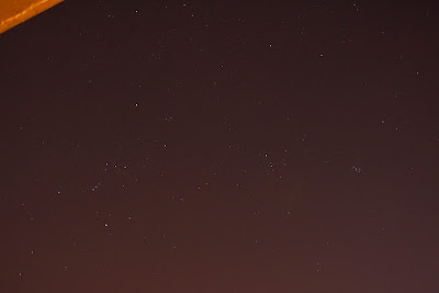 orion and night sky f/4.5