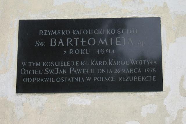 Kościółek Św. Bartłomieja w Krakowie