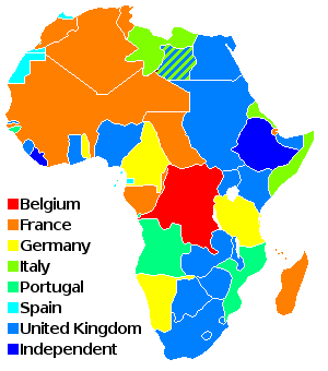 19th Century Africa Map.All The Pieces Matter Colonization Of Africa In 19th Century