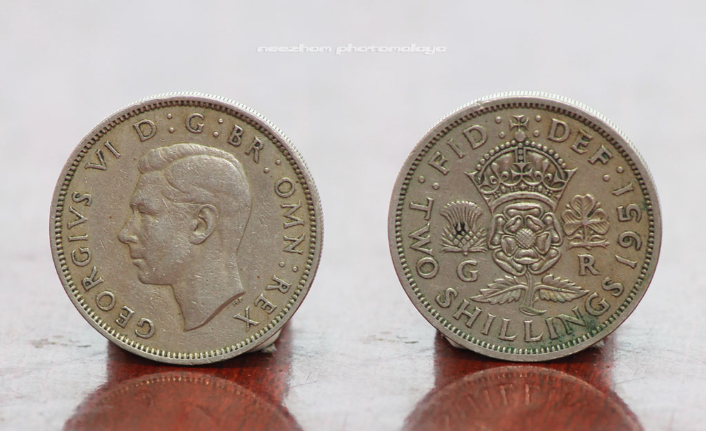 2 Shillings coin 1951