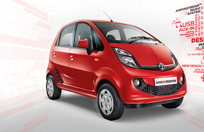 Recently Launch New 2015 Tata Nano Genx Photo